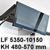 Klappenbeschlag AVENTOS HF HF - LF 5350-10150/KH 480-570 mm