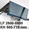 Klappenbeschlag AVENTOS HF HF - LF 2600-5500/KH 560-710 mm