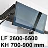 Klappenbeschlag AVENTOS HF HF - LF 2600-5500/KH 700-900 mm