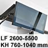 Klappenbeschlag AVENTOS HF HF - LF 2600-5500/KH 760-1040 mm