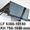 Klappenbeschlag AVENTOS HF HF - LF 5350-10150/KH 760-1040 mm