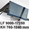 Klappenbeschlag AVENTOS HF HF - LF 9000-17250/KH 760-1040 mm