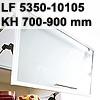 Klappenbeschlag AVENTOS HF schmal HF LF 5350-10150/KH 700-900 mm