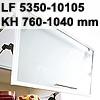 Klappenbeschlag AVENTOS HF schmal HF LF 5350-10150/KH 760-1040 mm