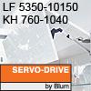 Klappenhalter AVENTOS HF Servo-Drive - LF 5350-10150 / KH 760-1040 mm Aventos HF SD - LF 5350-10150 / 760-1040 mm