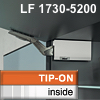 Klappenhalter AVENTOS HK li./re. weiß f. Tip-On - LF 1730-5200 HK-Set weiß, LF 1730-5200 alt 20K2700T -> neu 22K2700T