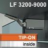AVENTOS HK Klappenhalterset grau f. Tip-On - LF 3200-9000 HK-Set grau, LF 3200-9000 alt 20K2900T -> neu 22K2900T