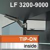 Klappenhalter AVENTOS HK li./re. weiß f. Tip-On - LF 3200-9000 HK-Set weiß, LF 3200-9000 alt 20K2900T -> neu 22K2900T