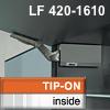 AVENTOS HK Klappenhalterset grau f. Tip-On - LF 420-1610 HK-Set grau, LF 420-1610 alt 20K2300T -> neu 22K2300T