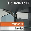 Klappenhalter AVENTOS HK li./re. weiß f. Tip-On - LF 420-1610 HK-Set weiß, LF 420-1610 alt 20K2300T -> neu 22K2300T