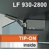 AVENTOS HK Klappenhalterset grau f. Tip-On - LF 930-2800 HK-Set grau, LF 930-2800 alt 20K2500T -> neu 22K2500T