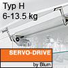 Klappenhalter AVENTOS HS Servo-Drive Set - Typ H Aventos HS SD, H Kraftspeicher - 676-800 mm / 6-13,5 kg