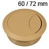 Kunststoff-Kabeldurchlass beige 60/72 mm Kabeldurchlass Kunststoff beige 60/72 mm