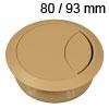 Kunststoff-Kabeldurchlass beige 80/93 mm Kabeldurchlass Kunststoff beige 80/93 mm
