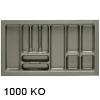 Besteckeinsätze KOMBI, 1000 Korpusbreiten (KB) 900 - 950 mm