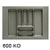 Besteckeinsätze KOMBI, 600 Korpusbreiten (KB) 500 - 550 mm