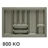 Besteckeinsätze KOMBI, 800 Korpusbreiten (KB) 700 - 750 mm