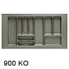 Besteckeinsätze KOMBI, 900 Korpusbreiten (KB) 800 - 850 mm