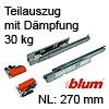 Tandem Teilauszug 550H gedämpft 270mm, 550H2700B 550H2700B (270 mm)