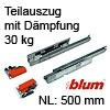 Tandem Teilauszug 550H gedämpft, 500 mm, 550H5000B 550H5000B (500 mm)