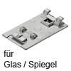 70T4568C CRISTALLO Topfplatte zum Kleben, für Glas und Spiegel Crist. Topfpl. Glas / Spiegel, SMNI