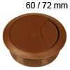 Kunststoff-Kabeldurchlass braun 60/72 mm Kabeldurchlass Kunststoff braun 60/72 mm