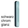 Mini-Garderobe CANOA schwarz / verchromt Wandhaken pieperconcept Can. schw./verchromt