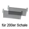 Trennsteg, 200er - graphit-transluzent cuisio Trennsteg 200er, graphit