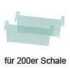 Trennsteg, 200er - grün-transluzent cuisio Trennsteg 200er, grün