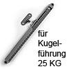 Führungsdämpfer für Kugelführungen - 25 kg Kugelführungen - 25 kg