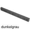 Distanzleiste 25/50/486 mm, Kunststoff oriongrau Distanzleiste 25/50/486 mm, Kst. dunkelgrau