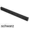 Distanzleiste 25/50/486 mm, Kunststoff terraschwarz Distanzleiste 25/50/486 mm, Kst. schwarz