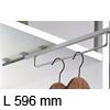 Kleiderbügelhalter, ausziehbar Garderobenauszug für Korpustiefe 600 mm