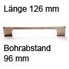 Relinggriff Edelstahl matt l-110 L 126 mm Griff Reling edelst. 126 mm