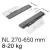 Push to open Silent für Actro 5D / YOU, 8-20 kg Actro 40 kg, NL 270-650 mm - 8-20 kg