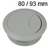 Kunststoff-Kabeldurchlass hellgrau 80/93 mm Kabeldurchlass Kunststoff hellgrau 80/93 mm