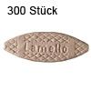 Flachdübel Lamello 10 für Nuttiefe 10 mm, 300 x Orig. Holzlamelle 53x19x4 mm, 300 Stück