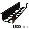 Kabelkanal K-BOX - Metall zum Anschrauben Länge 500 mm