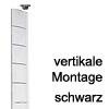 Kabelführung Flap - zur vertikalen Montage Schwarz