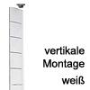 Kabelführung Flap - zur vertikalen Montage Weiss - RAL 9003
