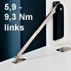 Bremsklappenhalter links, Drehmoment  5,9-9,3 Nm Klappenbeschl. li. - 10K - HDS10SKL