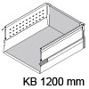 TANDEMBOX Schubkasten montiert 1200 mm/DB/30 kg Korpus 1200 mm - NL 500 mm DB30 m. Boxside