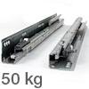 Blum Tandembox Korpusschiene 559 mit Blumotion 50 kg - 550 mm 559.5501B
