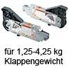 20L2100.05 AVENTOS Kraftspeicher HL 20L2100.05 Kraftsp.Set Av. HL / SD 1,25-4,25 kg