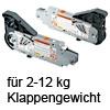 20L2500.05 AVENTOS Kraftspeicher HL 20L2500.05 Kraftsp.Set Av. HL / SD 2-12 kg
