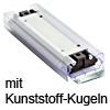 Laufwagen mit Kunststoff-Kugelpaket Accuride DP0116-CASSRC Wagen + Kunststoffkugeln