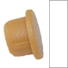 Abdeckkappe 90° Lamello Clamex, Weiß Kst.-Kappe Ø 6 mm RAL 9010
