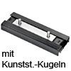 Laufwagen mit Kunststoff-Kugelpaket Accuride DP0115-CASSRC Wagen + Kunststoffkugeln