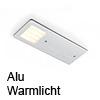 POLAR Aluminium, Warmlicht Polar LED-Leuchte, ww - 5W / 24Vdc