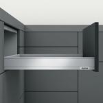 Legrabox Schubkasten N Bausatz Länge/Tiefe 400 mm | seidenweiß | zum Schrauben